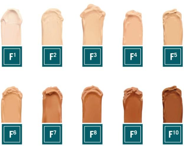 Foundation Colour No. 1-10