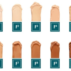 Foundation Colour No. 1-10