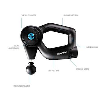 Compex® Fixx ™ 1.0 Massager (Therapy Gun)