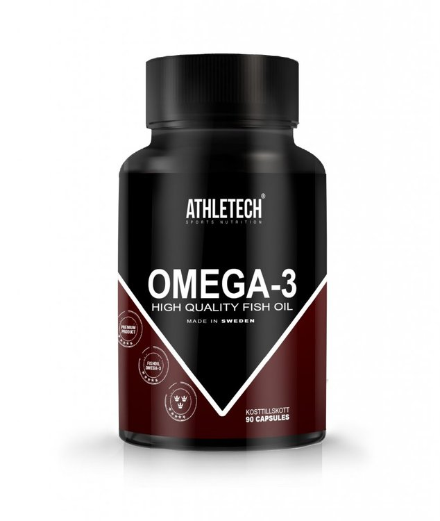 ATHLETECH OMEGA-3, 90CPS