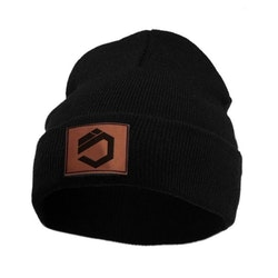 FOLDED DUTY BEANIE, BLACK