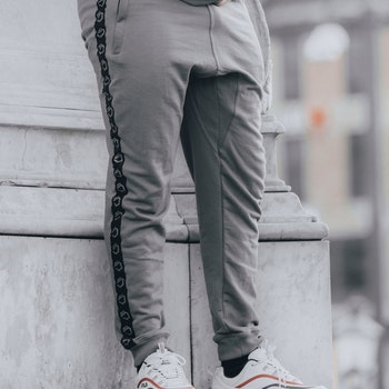 Iron Duty Loki Tapered joggers, Retro grey