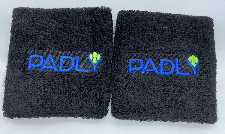 Padly svettband / handledsband/ wristband 2-pack 8 x 8 cm