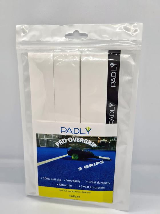 3-pack PADLY Pro Overgrip / grepplinda