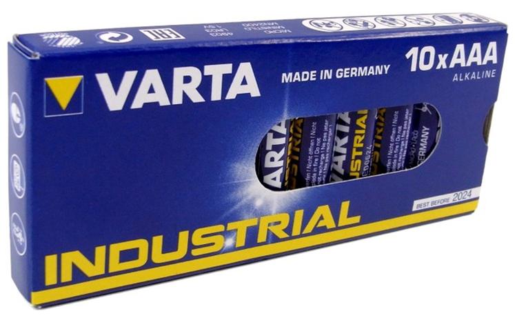 VARTA Industrial pro AAA/LR03 10-pack