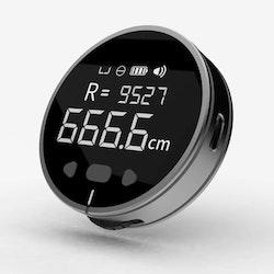 Digitalt måttband och rullmätare tumstock med LCD skärm