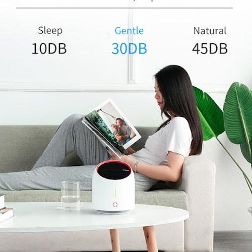 Liten portabel luftrenare 99,9% effektiv