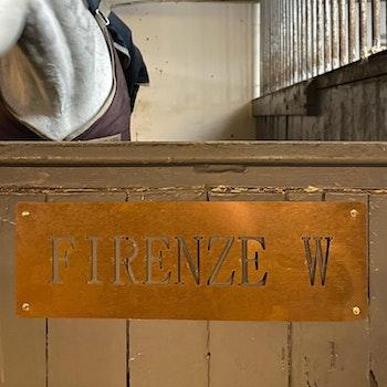 Navneskilt hestebås (klikk for mer informasjon)