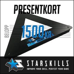 Presentkort 1500 Kronor