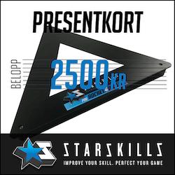 Presentkort 2500 Kronor