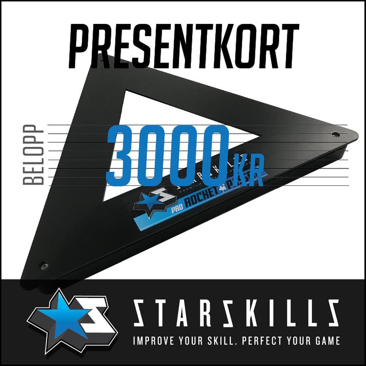 Presentkort 3000 Kronor