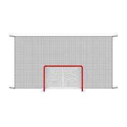 Starskills Pro Backstop Net 2.5 x 5.0 m