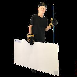 Starskills Hockey Shooting Pad 60x120 cm
