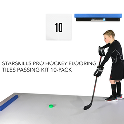 Starskills Pro Hockey Flooring Tiles Passing Kit 10-Pack