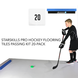 Starskills Pro Hockey Flooring Tiles Passing Kit 20-Pack