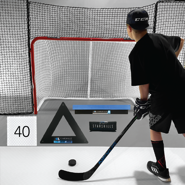 Starskills Hockey Pro Flooring Tiles Premium Shooting Kit 40-Pack