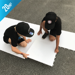 Starskills Pro Hockey Flooring Tiles 100-Pack