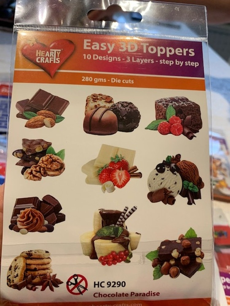 3D Toppers 10-pack