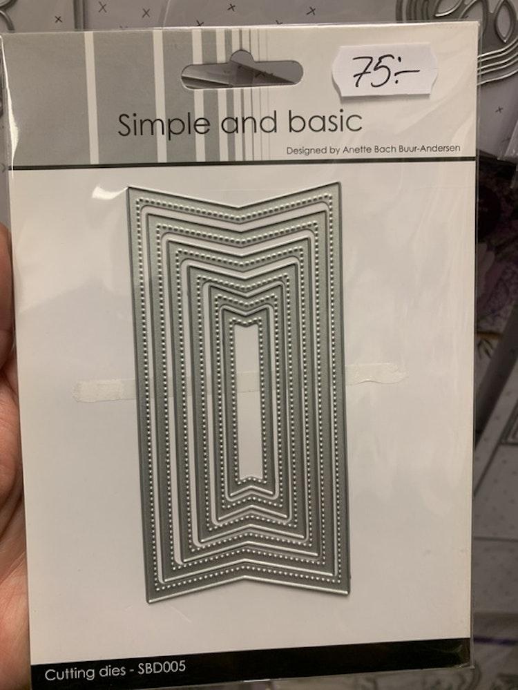 Dies simple and basic