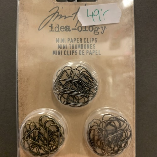 Mini paper clips