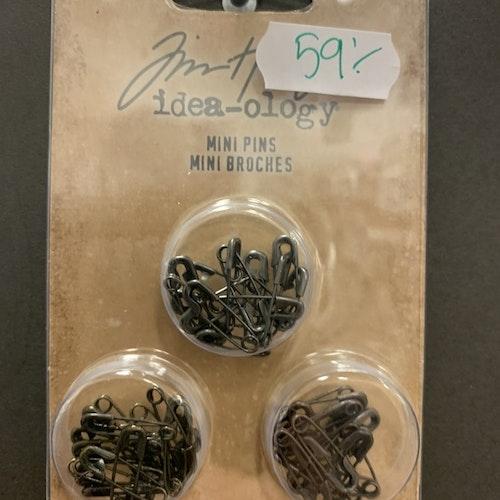 Mini pins/säkerhetsnålar