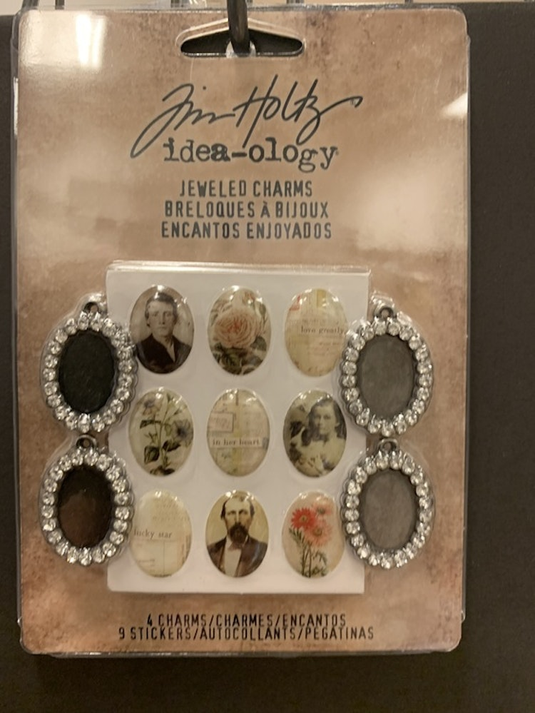 Jeweled charms