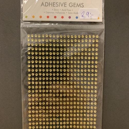 Rhinestones guld 1080 st mini