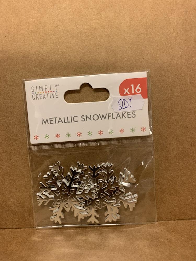 Snöflingor silver