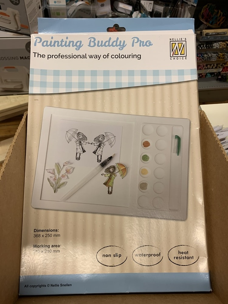 Nellie's Silicone Painting Buddy Pro - Nellie Snellen