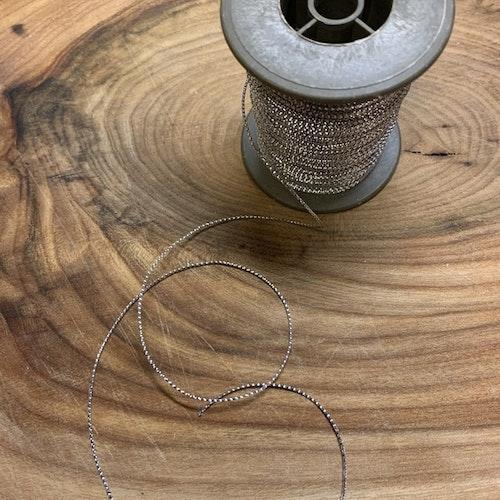 Band silver 1 mm, säljs per meter