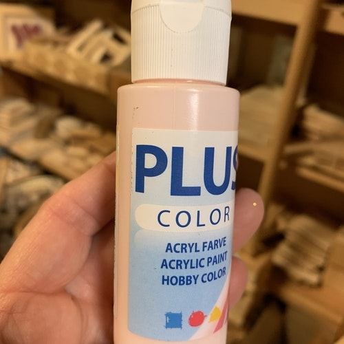 Plus color ljusrosa 60 ml