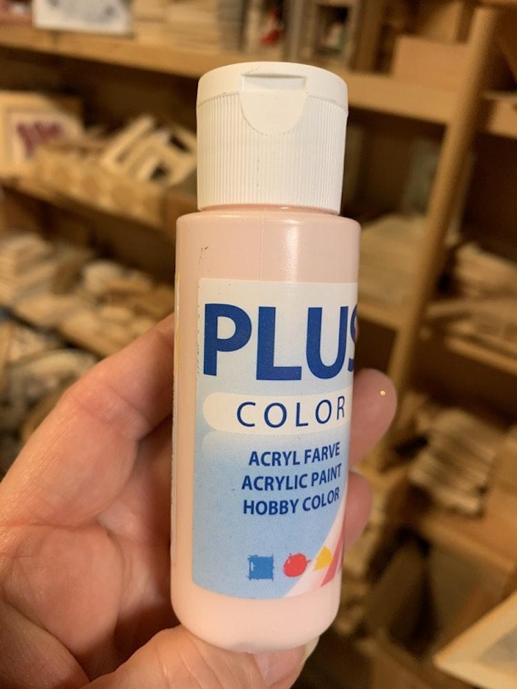 Plus color ljusrosa 60 ml