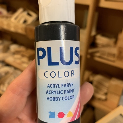 Plus color svart 60 mk