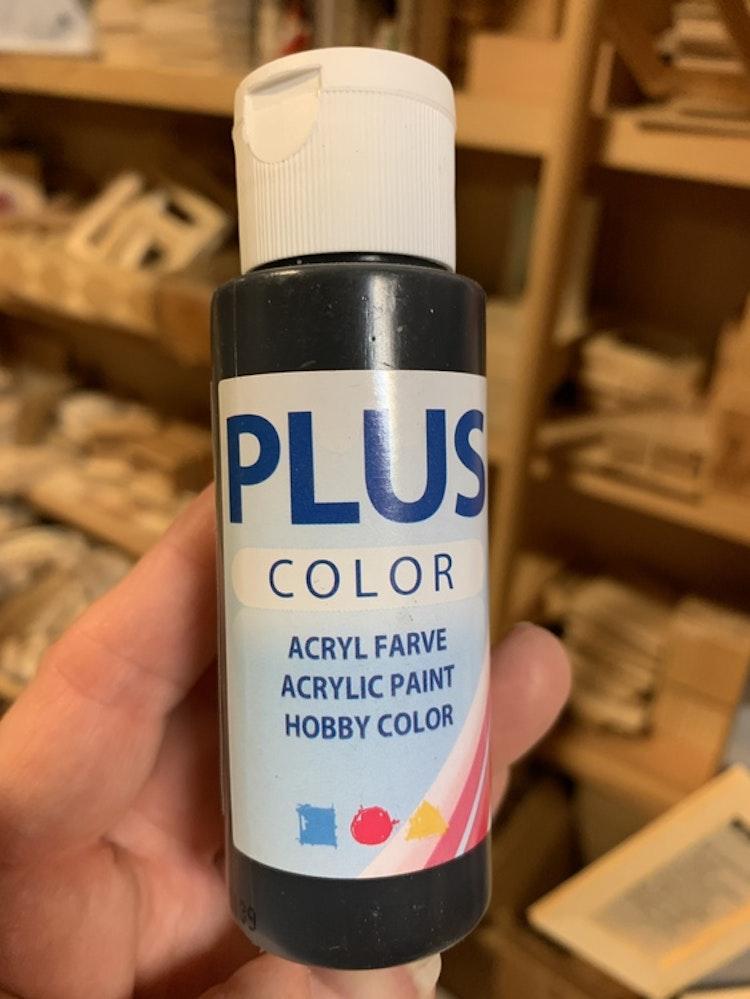 Plus color svart 60 mk