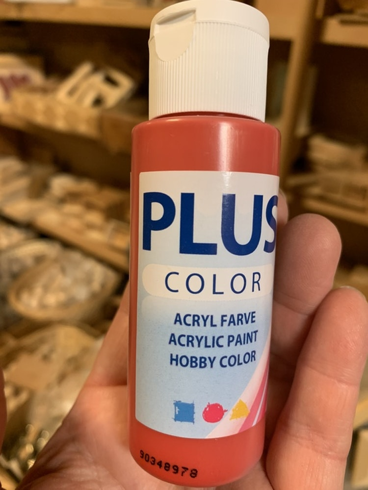 Plus color röd 60 ml