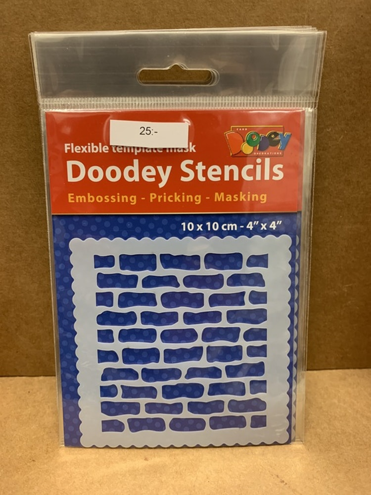 Stecil 10x10 bricks