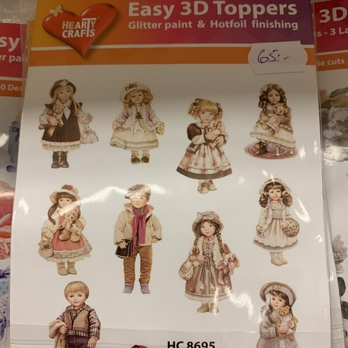 3D Toppers