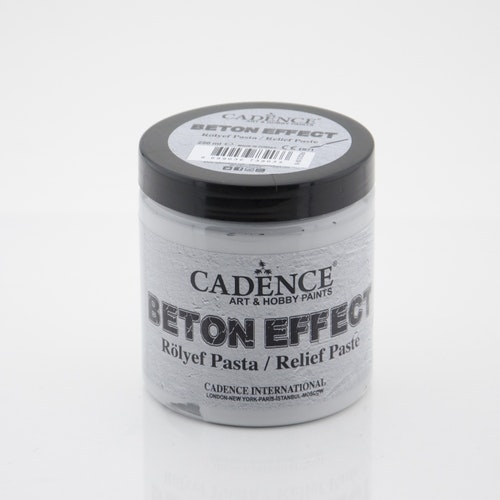 250ML Concrete Efekt - Relıef Paste - Betongfärg 250 ml