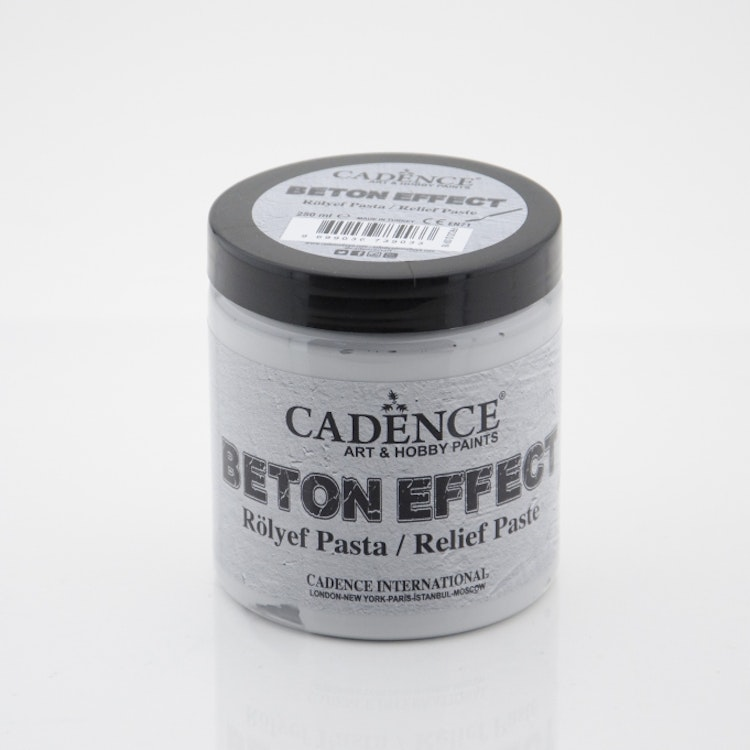 250ML Concrete Efekt - Relıef Paste - Betongfärg 250 ml