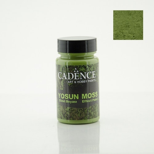 3640 Dark Green Moss Effect Paint 90 ml