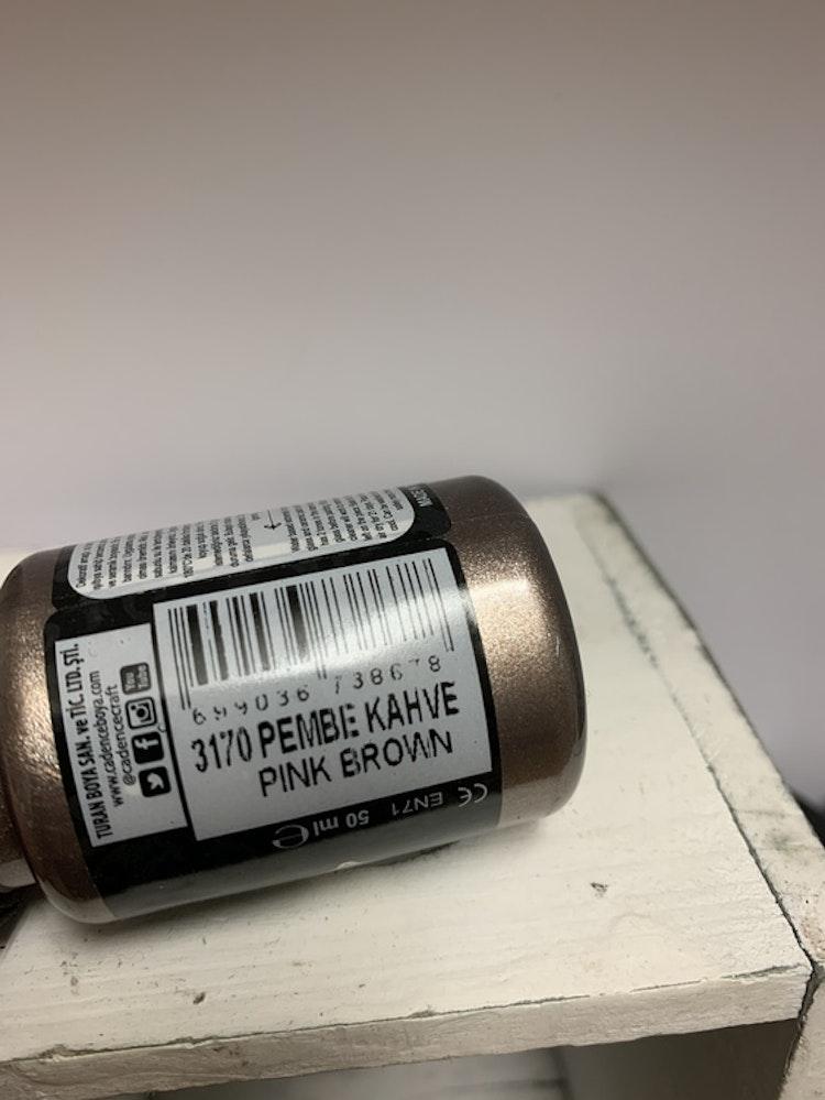 Nr 3170 Pink Brown