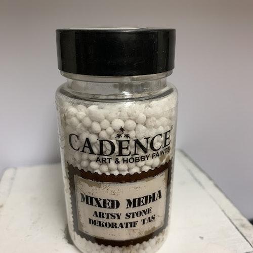 Mixed media artsy stone medium
