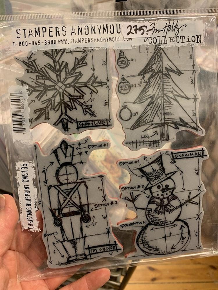 Christmas blueprint cms135