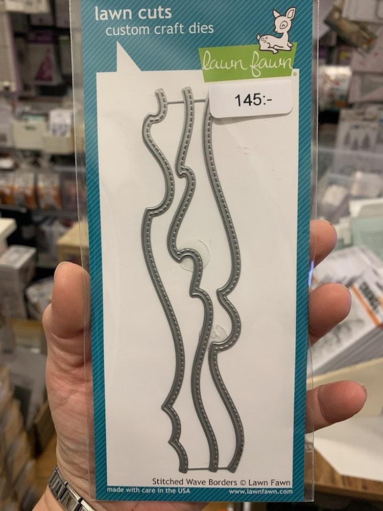 LF1710 stitched wave borders