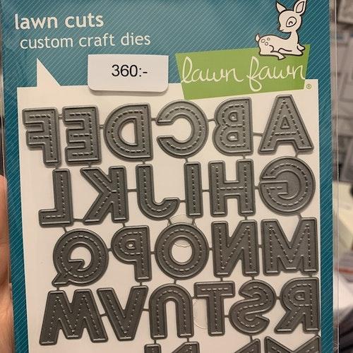 LF2261 Olivers stitched ABC