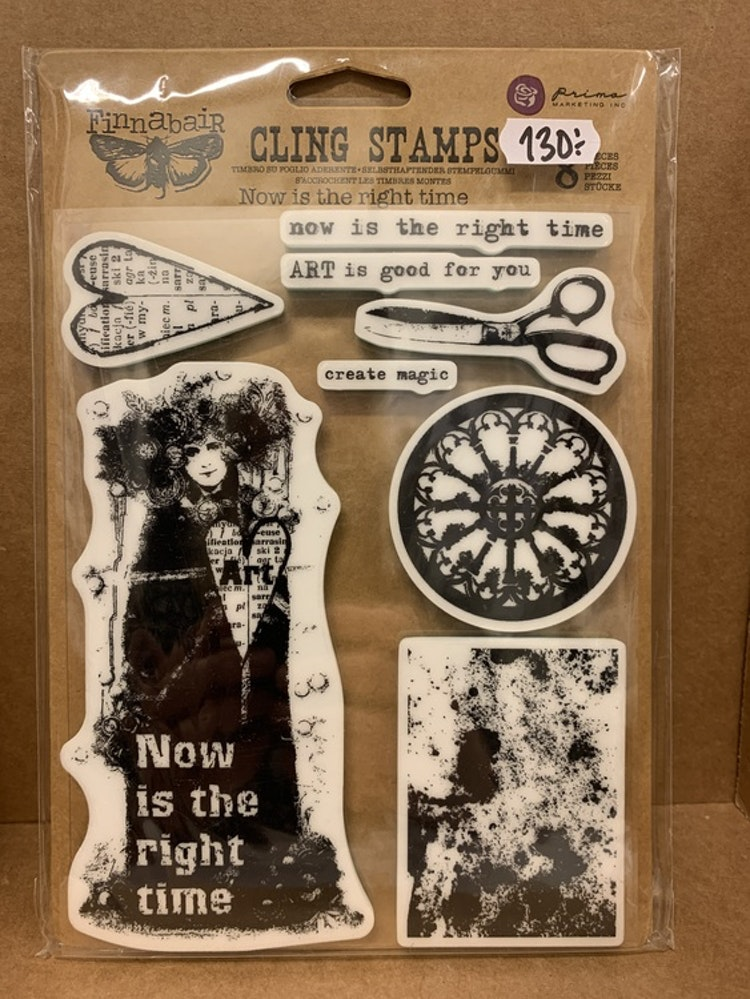 Cling stamps Prima