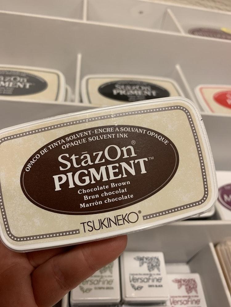 Staz On pigment Chocolate Brown