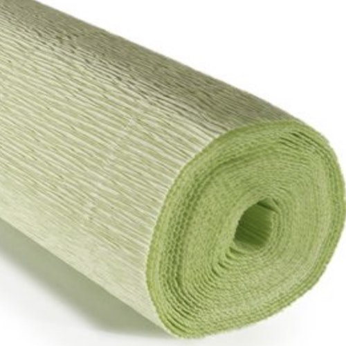 COD. 566 CREPE PAPER Gr.180  Water Green