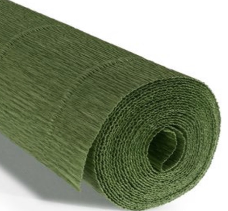 COD. 565 FLORIST CREPE PAPER 180g - Mint Green  Mint Green Mint Green