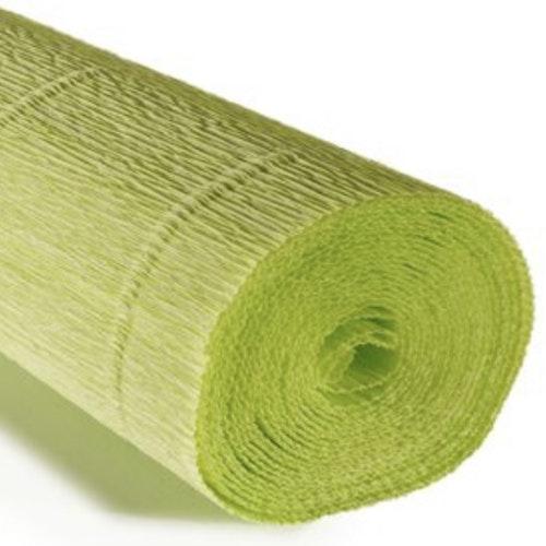 COD. 558 CREPE PAPER Gr.180  Acid Green